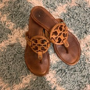 Tory Burch Authentic Miller Logo Sandals